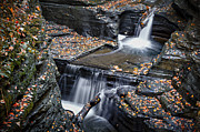 Finger Lakes Photo Originals - Diamond Falls by Eduard Moldoveanu