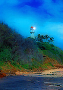 Diamond Mixed Media - Diamond Head Lighthouse by Frank  Vargo