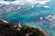 Diamond Photo Prints - Diamond Head Lighthouse Print by Steven Sparks
