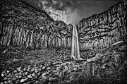 Waterfall Photos - Diamond In The Rough by Evelina Kremsdorf