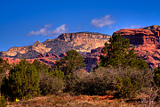 Red Rock Art - Diamondback Gulch Near Sedona Arizona II by David Patterson