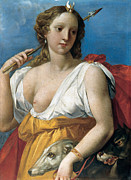 Famous Artists - Diane the Huntress by Giuseppe Cesari