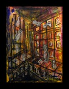 Soul Paintings - Die Seele Der Stadt - The Soul Of The City by Mimulux patricia no