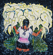 Diego's Calla Print by Victoria Page