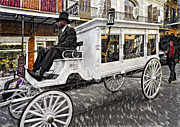 French Quarter Digital Art Posters - Dignified Departure paint 2 Poster by Steve Harrington