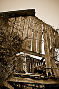 Decayed Barn Framed Prints - Dilapidated Barn  Framed Print by Greg Jackson