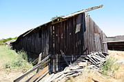 Old Country Roads Prints - Dilapidated Ranch in Petaluma California 5D24415 Print by Wingsdomain Art and Photography