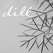 Black And White Photography Mixed Media - Dill by Linda Woods