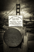 Bay Bridge Photo Metal Prints - Dimension Metal Print by Erik Brede