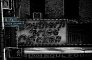 Soul Food Framed Prints - Diner Harlem Framed Print by Patrizio Cipollini