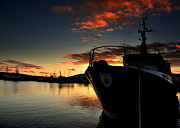 Florian Walsh Metal Prints - Dingle Harbour Sunset Metal Print by Florian Walsh