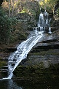 Dingmans Falls Photos - Dingmans Falls 4 by Living Color Photography Lorraine Lynch