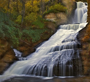 Foliage Photos - Dingmans Falls by Susan Candelario
