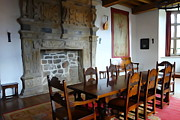Dining Hall Photos - Dining at Donegal Castle by Charlie Brock
