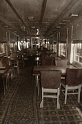 Train Car Photos - Dining Car by Margie Hurwich