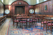 Dining Hall Photos - Dining Hall Wren Building by Jerry Gammon