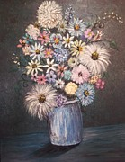 Rhonda Clapprood - Dining Room Bouquet