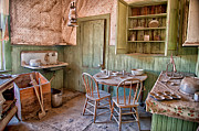 Old West Photo Metal Prints - Dinner Time Metal Print by Cat Connor