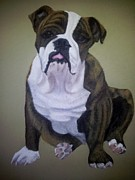 Gea Scheltinga - Dino an English Bulldog