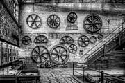 Dinorwig Quarry Workshop V2 Print by Adrian Evans