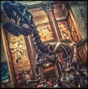 Gregory Dyer - Dinosaur at the Natural History Museum - 02