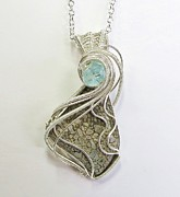 Heather Jordan - Dinosaur Bone Pendant in...