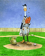 Dirty Pitchers... Print by Will Bullas