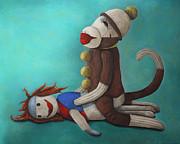Leah Saulnier The Painting Maniac - Dirty Socks 4