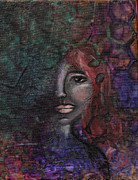 Redhead Mixed Media Framed Prints - Disappearance Of Sophie Framed Print by Donna Blackhall