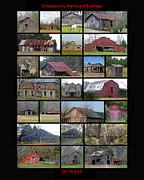Old Home Place Prints - Disappearing Barns and Buildings of Texas Print by Danny Pickens