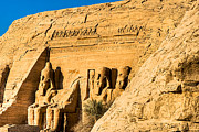 Ancient Ruins Posters - Discovering the Nubian Monuments of Ramses II Poster by Mark E Tisdale
