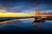 Schooner Prints - Discovery World Print by Phil Koch