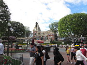 Coaster Prints - Disneyland Park Anaheim - 12121 Print by DC Photographer