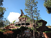 Land Prints - Disneyland Park Anaheim - 121219 Print by DC Photographer