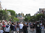 Anaheim Prints - Disneyland Park Anaheim - 12122 Print by DC Photographer