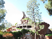 Disney Prints - Disneyland Park Anaheim - 121222 Print by DC Photographer