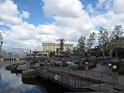 Anaheim Prints - Disneyland Park Anaheim - 121238 Print by DC Photographer