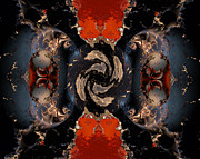 """algorithmic Abstract"" Framed Prints - Disrupting influence Framed Print by Claude McCoy"