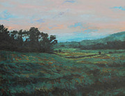 Gregory Arnett Paintings - Distant Fields by Gregory Arnett