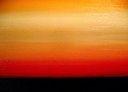 Passionate Paintings - Distant Horizon by Frank B Shaner