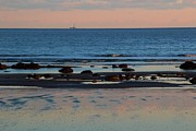 York Beach Metal Prints - Distant Light Metal Print by Andrea Galiffi