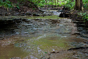 Cvnp Prints - Distillery Run Cascades Print by Claus Siebenhaar