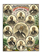 Distinguished Colored Men   1883 Print by Daniel Hagerman