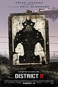 Vintage Posters Art - District 9 Poster by Sanely Great
