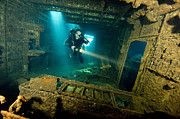Dray Van Beeck - Diver inside the...