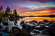 S Landscape Photography Posters - Divers Cove Lake Tahoe Poster by Scott McGuire