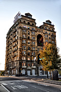 Divine Digital Art - Divine Lorraine Hotel in Philadelphia by Bill Cannon