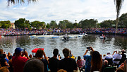 Epiphany Prints - Diving for the cross 2013 panoramic Print by David Lee Thompson