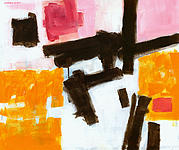 Bold Painting Originals - Divisor by Douglas Simonson