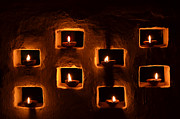 Greet Prints - Diwali Candles Print by Saurabh and Geetanjali Nande